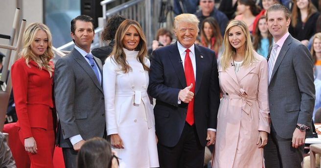 Trump family creepy