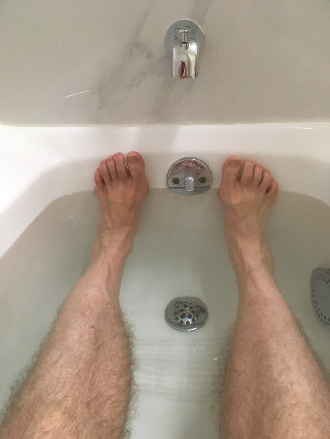 bathtub legs