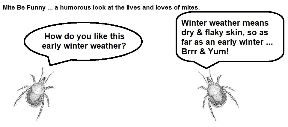 Mite Be Funny #91 Early Winter