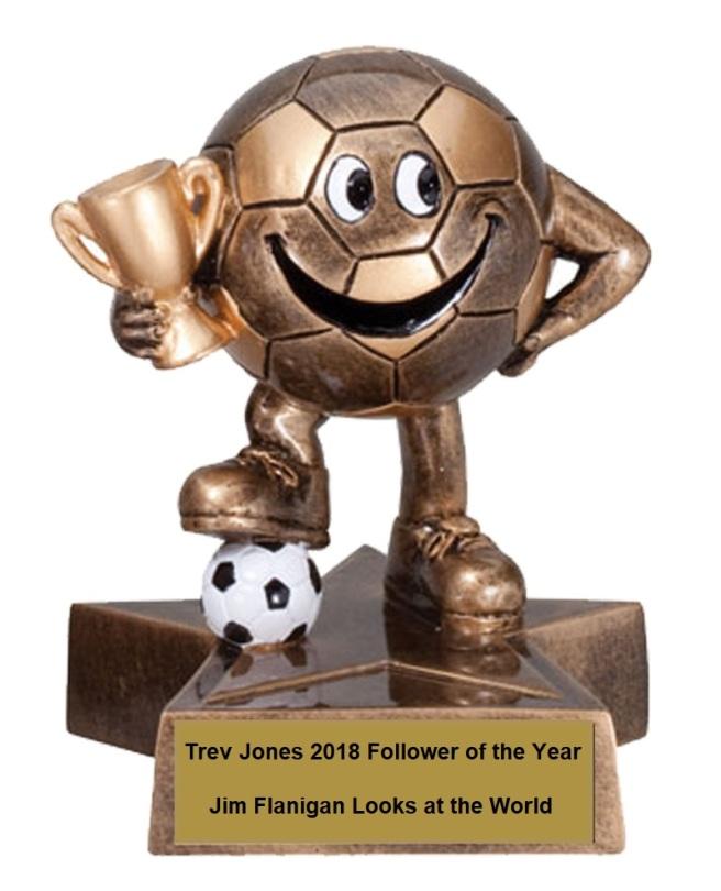 Trophy 2018 soccer