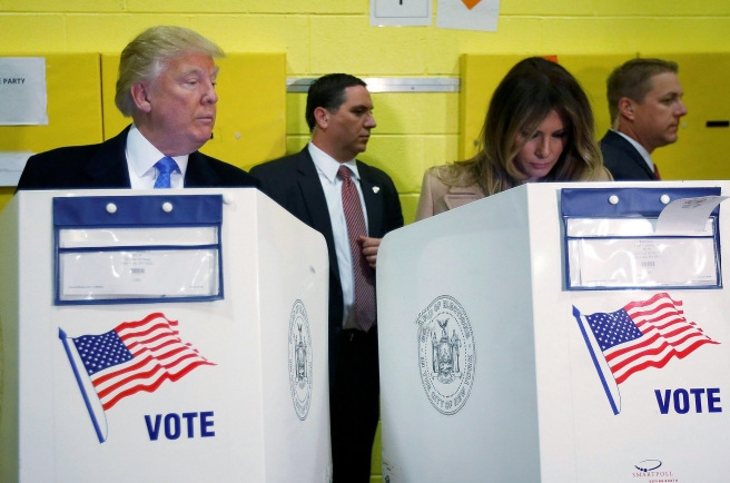 Trump cheating voting