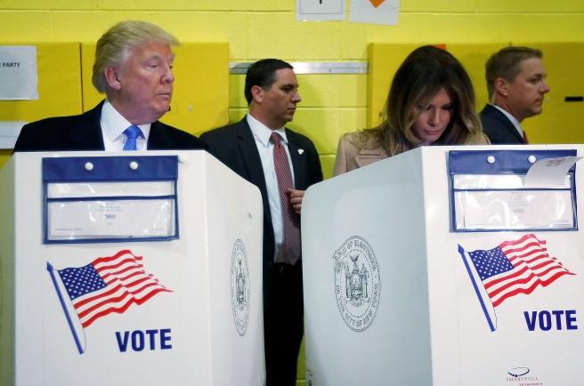 Trump cheating voting