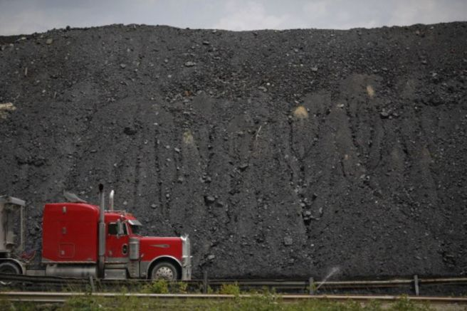 coal wall