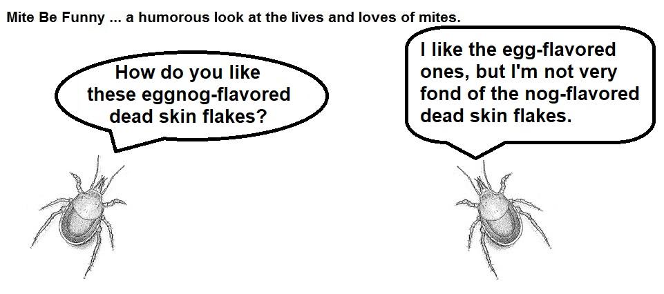 Mite Be Funny #95a Eggnog