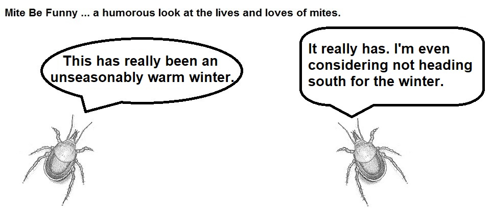 mite be funny #99a warm winter