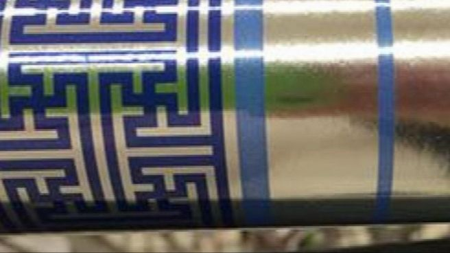 wrapping paper swastika