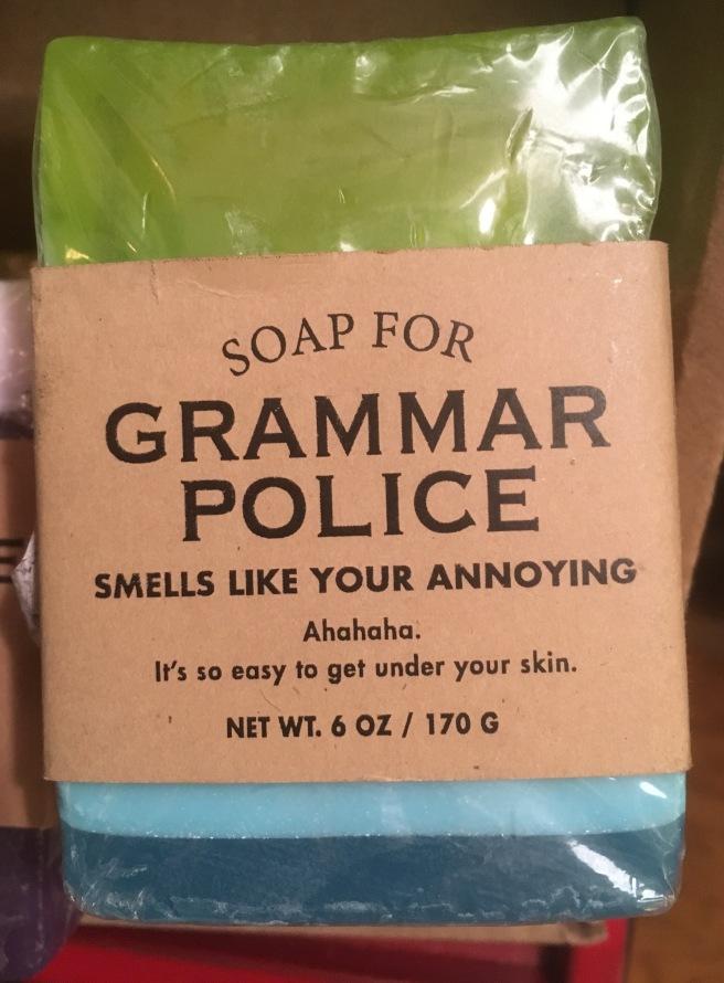 Grammar Soap
