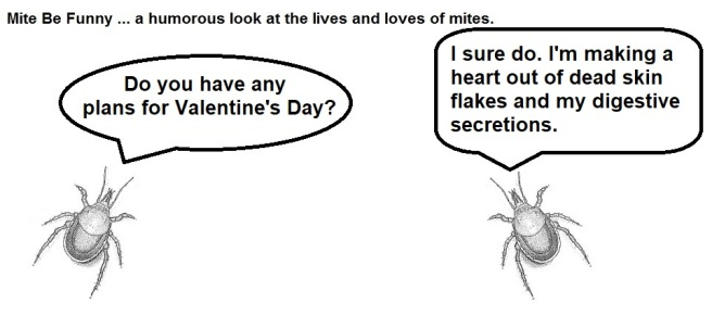 Mite Be Funny #103a Valentine's Day