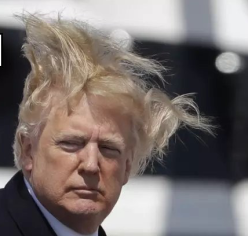 Trump Hair raising 2