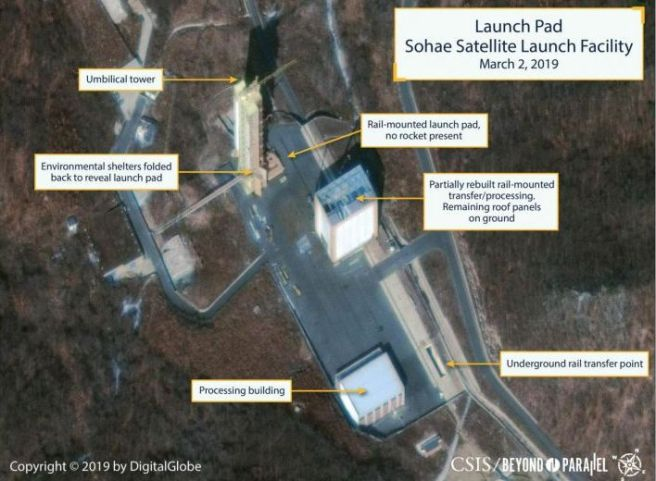 North Korea nuclear test site rebuild