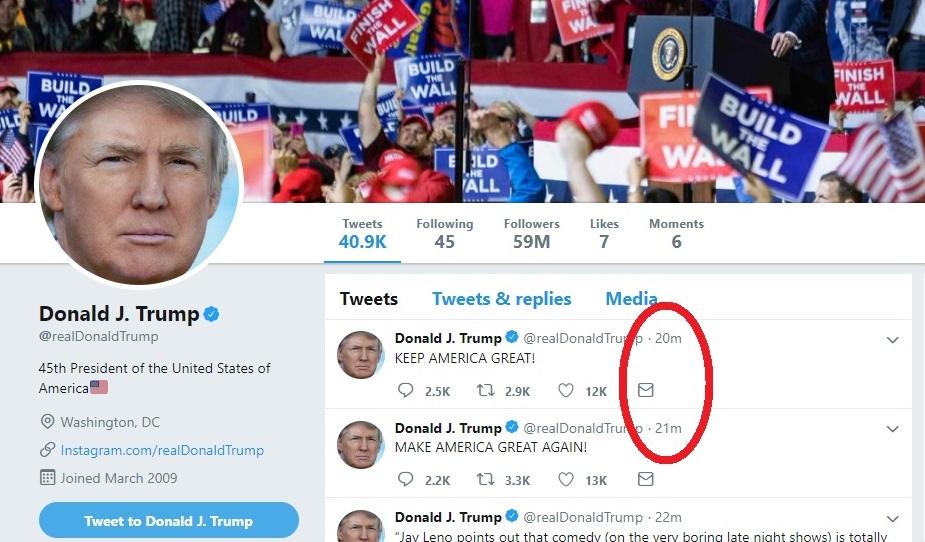 Trump Tweet Maga2