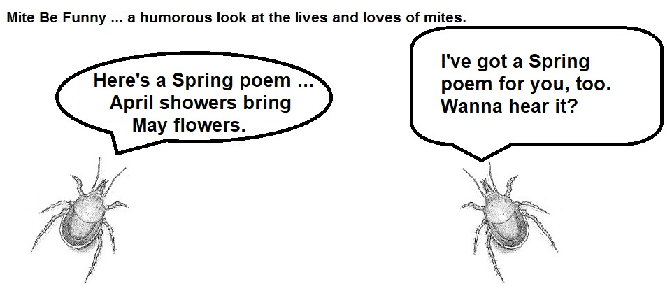 Mite Be Funny #112a April Wet