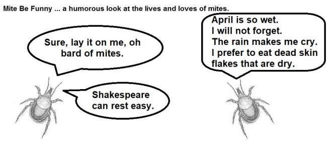 Mite Be Funny #112b April Wet