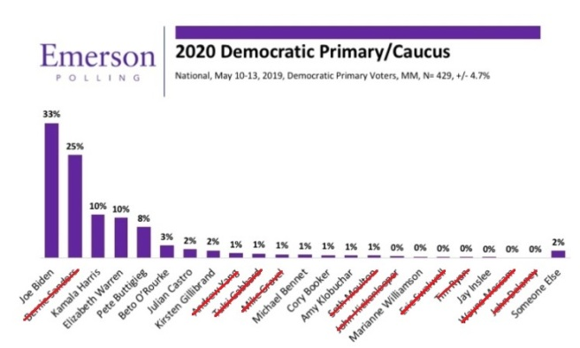 Democratic Poll 5-19a