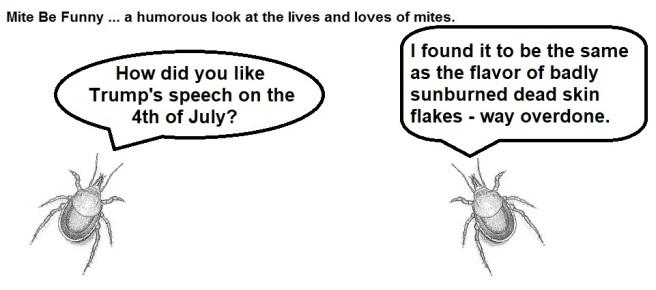 Mite Be Funny #124 Trump Speech
