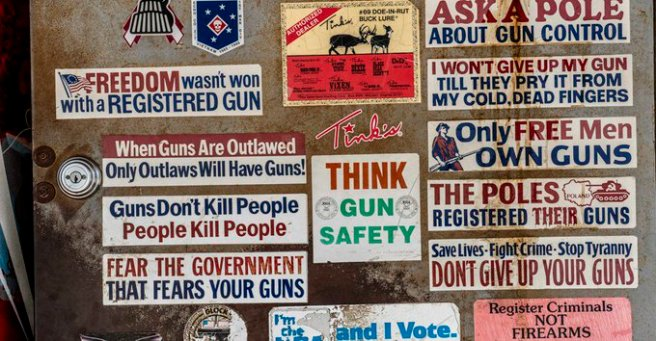 gun stickers original