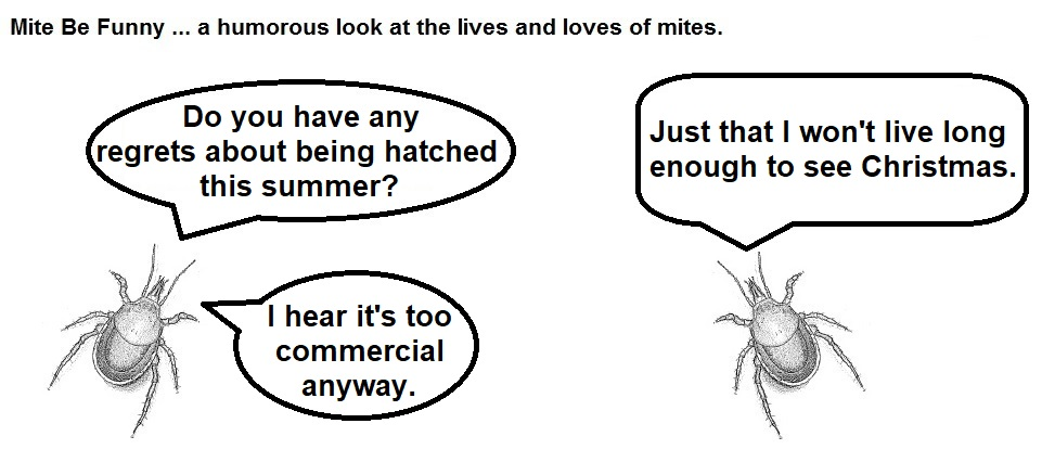 Mite Be Funny #131 Summer Hatch