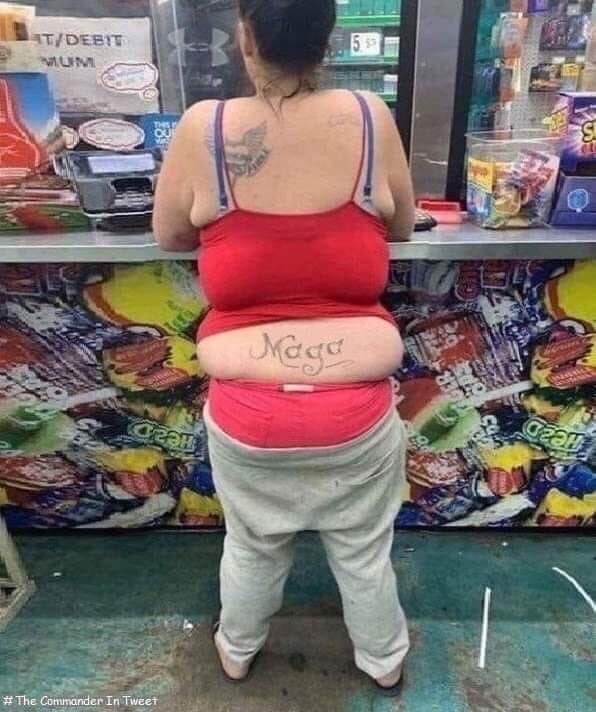 Maga women tattoo