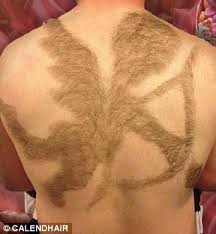 back hair cupid