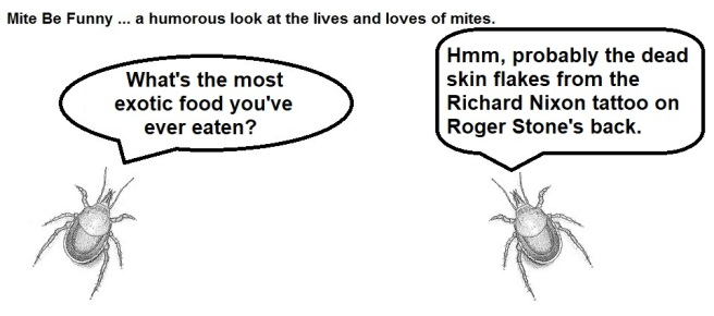 Mite Be Funny #142a Exotic Food