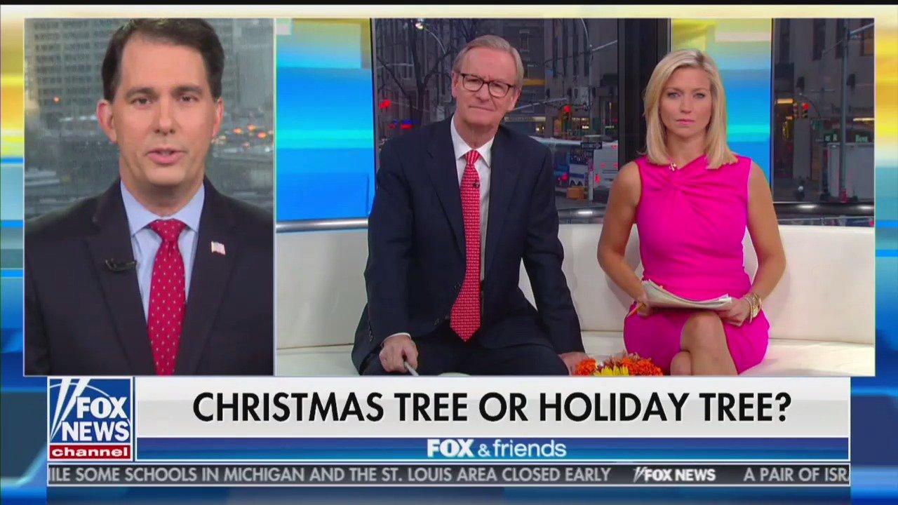 War on christmas tree