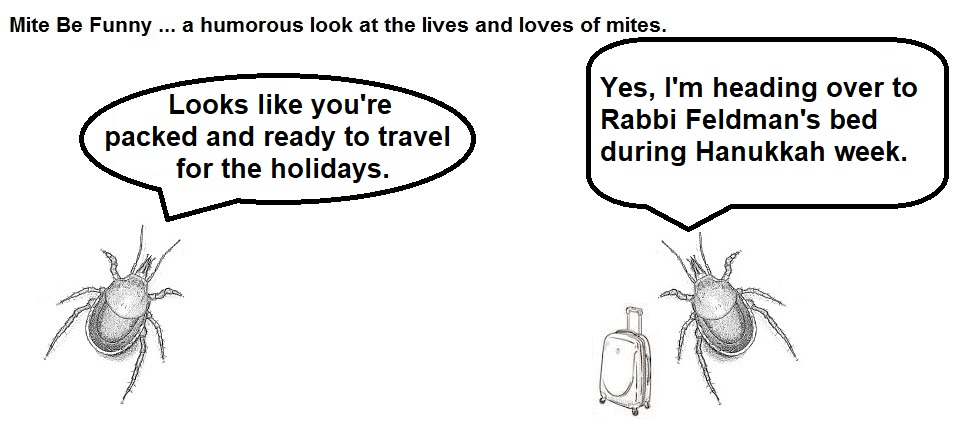 Mite Be Funny #148a Hanukkah