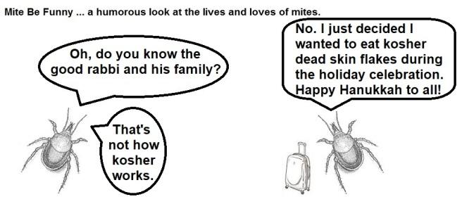 Mite Be Funny #148b Hanukkah