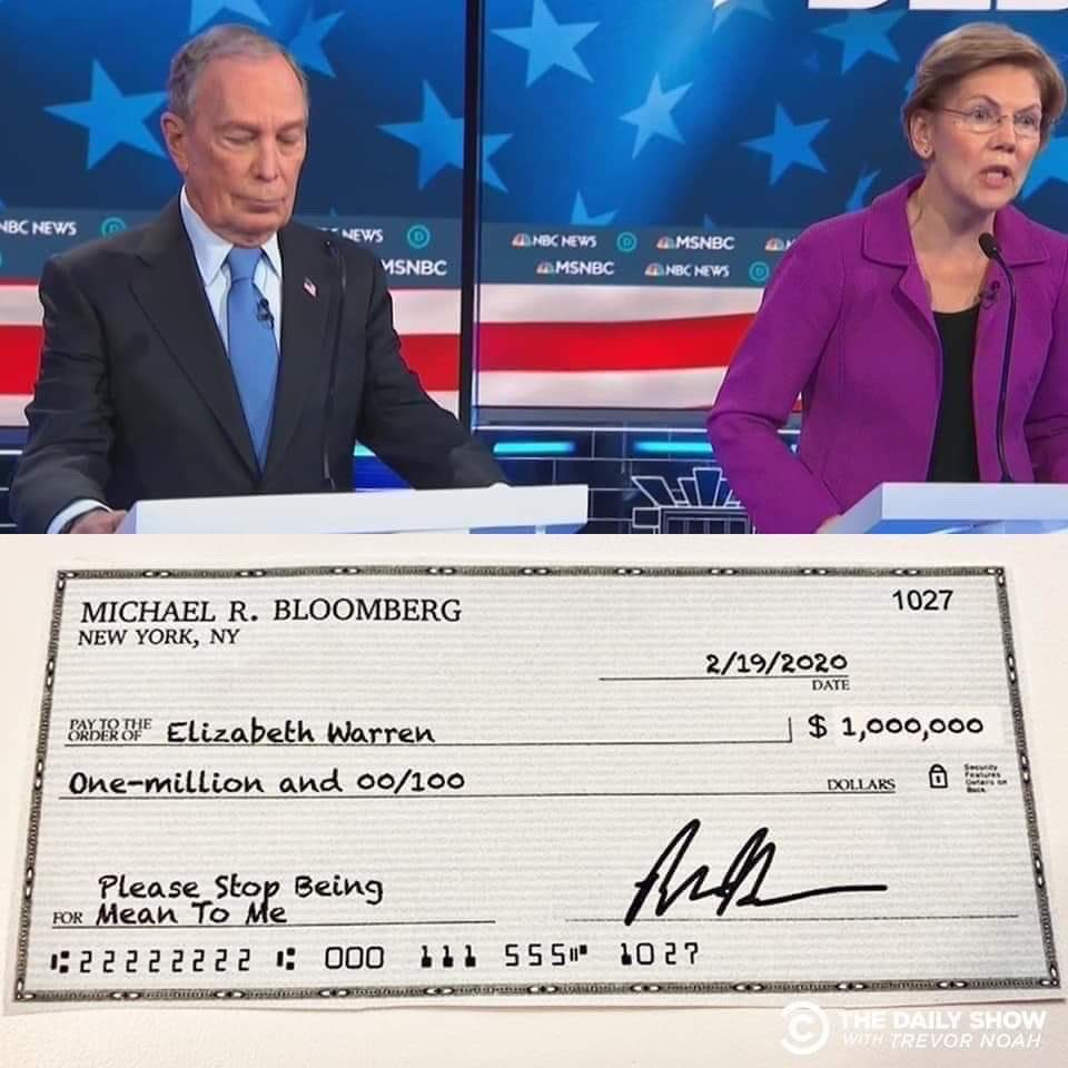 Bloomberg Warren Check