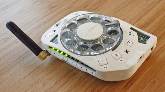 Cell phone rotary