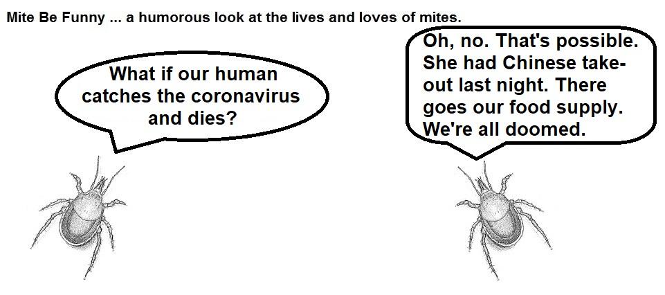 Mite Be Funny #159a Coronavirus