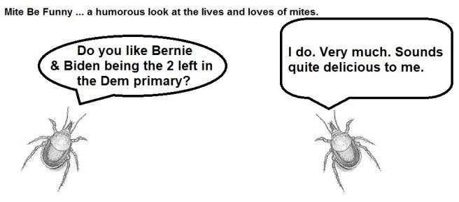 Mite Be Funny #160a Bernie Biden