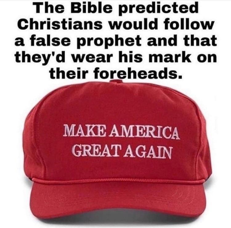 MAGA Hat Bible