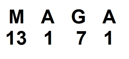 MAGA Numbers 666