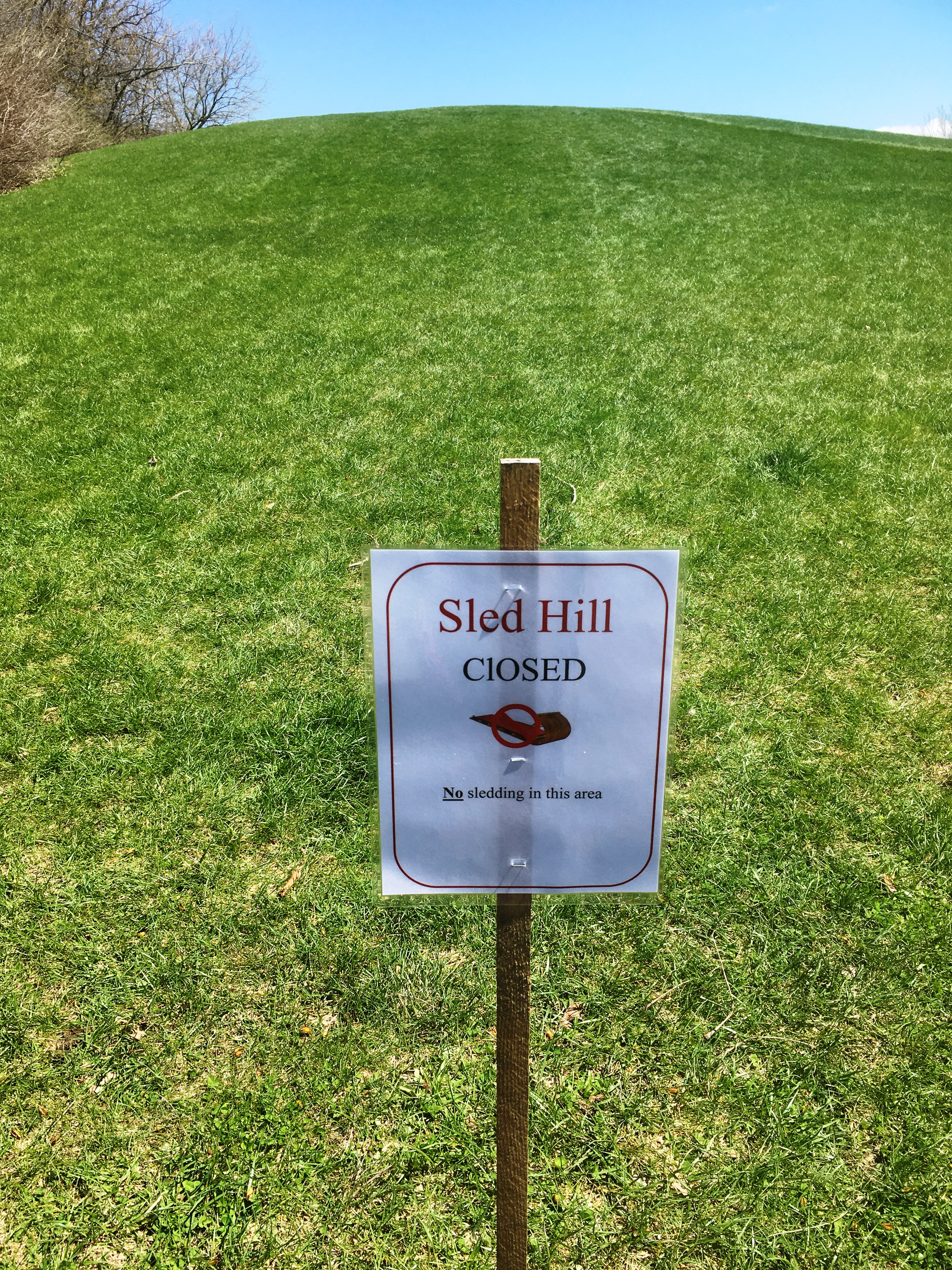 Sled Hill Closed
