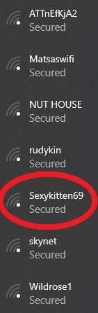 Wireless names