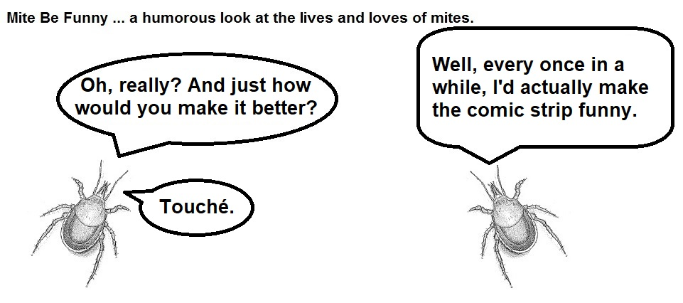 Mite Be Funny #168b Comic Name