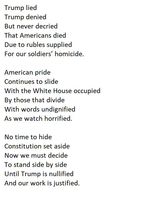 Trump Poem