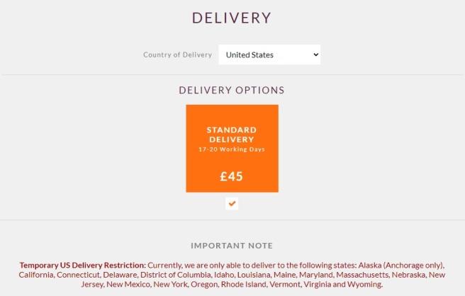 Buckfast Delivery