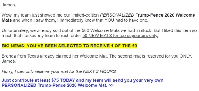 email trump8