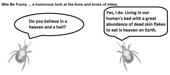 Mite Be Funny #180a Heaven & Hell