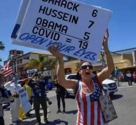 Obama Numbers sign